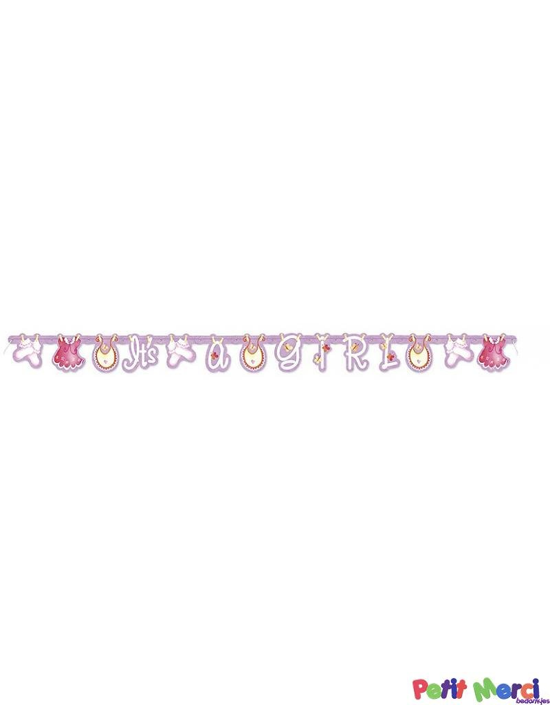 c568b2e41a9fc8 letterslinger waslijn roze. wenslijn meisje met waslijnprint